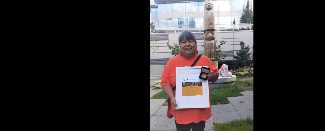 Hollyburn Society's Xele'milh Doris Paul Recipient of the 2021 Reconciliation Award